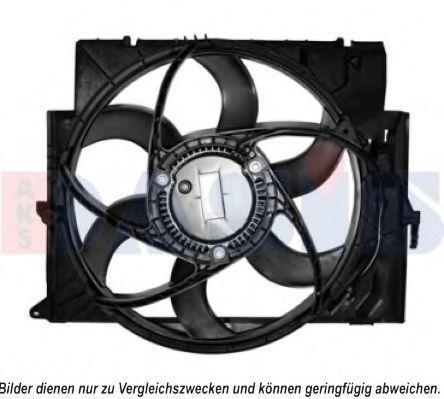 Вентилятор, охлаждение двигателя AKS DASIS 058067N