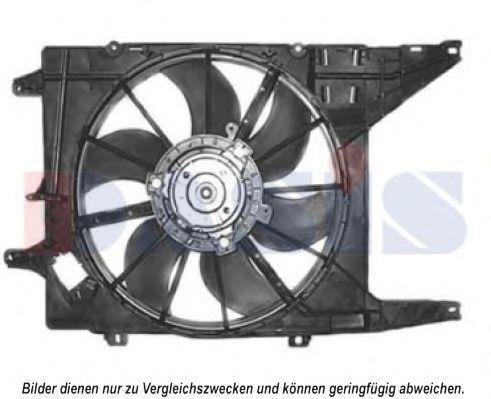Вентилятор, охлаждение двигателя AKS DASIS 188025N