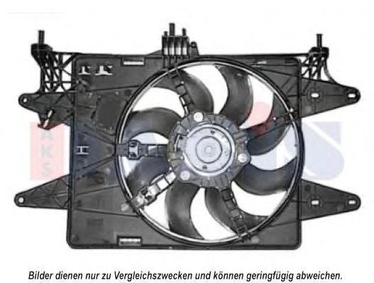 Вентилятор, охлаждение двигателя AKS DASIS 088059N