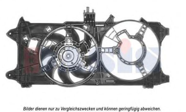 Вентилятор, охлаждение двигателя AKS DASIS 088065N