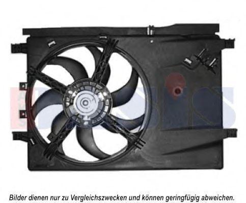 Вентилятор, охлаждение двигателя AKS DASIS 088066N