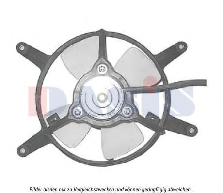 Вентилятор, охлаждение двигателя AKS DASIS 088074N