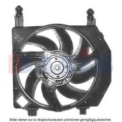 Вентилятор, охлаждение двигателя AKS DASIS 098118N
