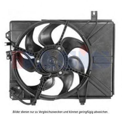 Вентилятор, охлаждение двигателя AKS DASIS 568053N