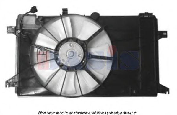 Вентилятор, охлаждение двигателя AKS DASIS 118032N