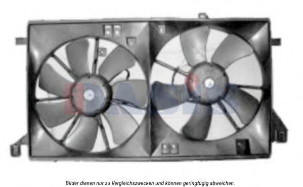 Вентилятор, охлаждение двигателя AKS DASIS 118035N