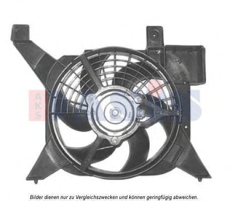 Вентилятор, охлаждение двигателя AKS DASIS 068042N