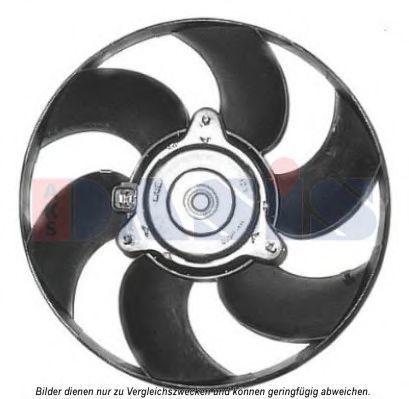 Вентилятор, охлаждение двигателя AKS DASIS 068043N