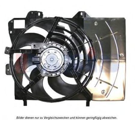Вентилятор, охлаждение двигателя AKS DASIS 068046N