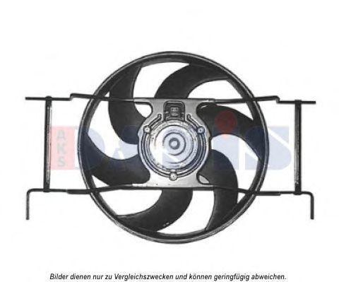 Вентилятор, охлаждение двигателя AKS DASIS 068049N