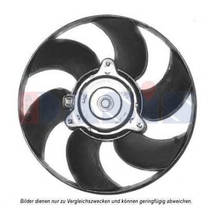 Вентилятор, охлаждение двигателя AKS DASIS 068051N