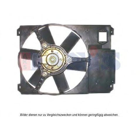 Вентилятор, охлаждение двигателя AKS DASIS 068052N
