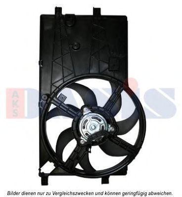 Вентилятор, охлаждение двигателя AKS DASIS 068053N