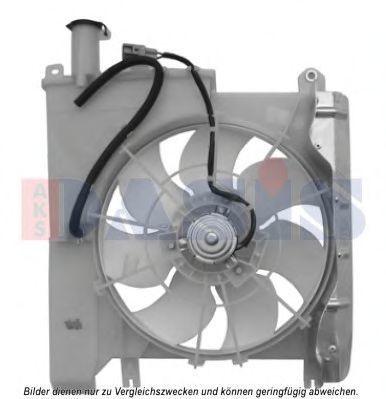 Вентилятор, охлаждение двигателя AKS DASIS 068056N