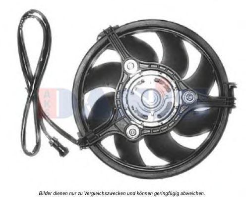 Вентилятор, охлаждение двигателя AKS DASIS 488025N