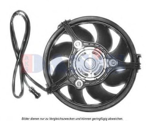 Вентилятор, охлаждение двигателя AKS DASIS 488026N