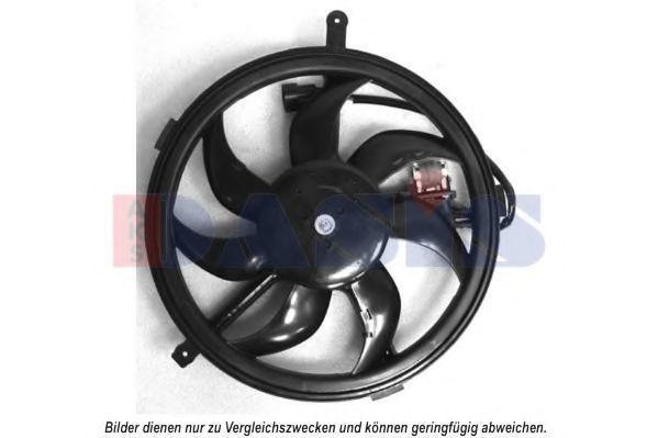 Вентилятор, охлаждение двигателя AKS DASIS 058075N