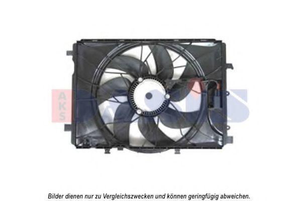 Вентилятор, охлаждение двигателя AKS DASIS 128174N