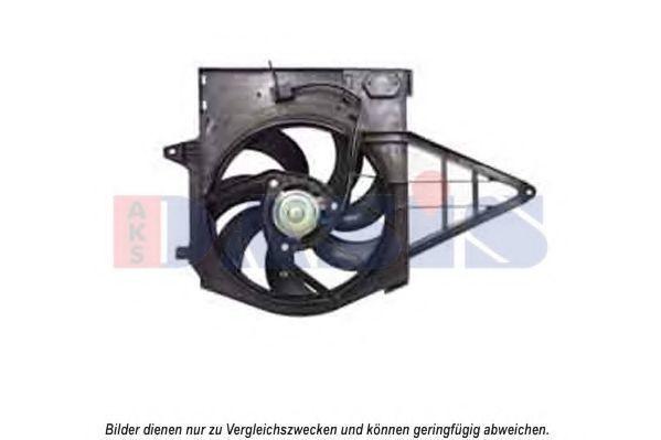 Вентилятор, охлаждение двигателя AKS DASIS 168056N