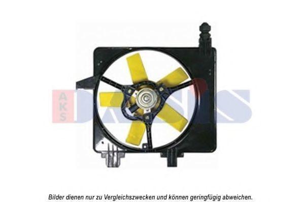 Вентилятор, охлаждение двигателя AKS DASIS 098133N