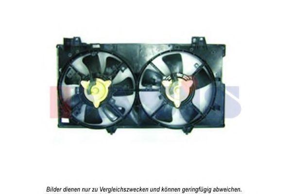 Вентилятор, охлаждение двигателя AKS DASIS 118039N