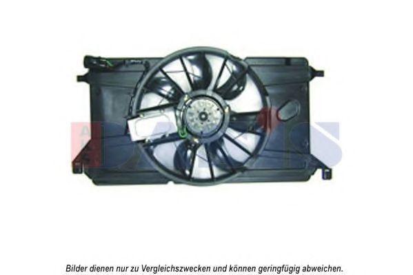 Вентилятор, охлаждение двигателя AKS DASIS 118040N