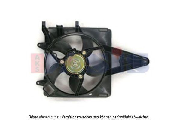 Вентилятор, охлаждение двигателя AKS DASIS 088109N