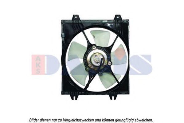 Вентилятор, охлаждение двигателя AKS DASIS 148049N