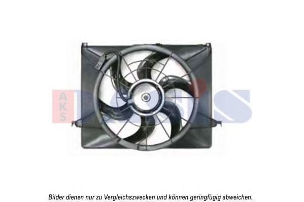 Вентилятор, охлаждение двигателя AKS DASIS 568058N