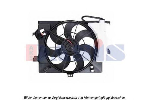 Вентилятор, охлаждение двигателя AKS DASIS 568063N