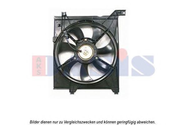 Вентилятор, охлаждение двигателя AKS DASIS 518059N
