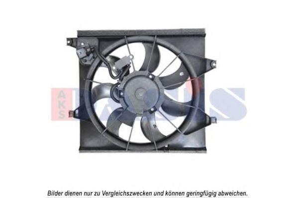Вентилятор, охлаждение двигателя AKS DASIS 518061N