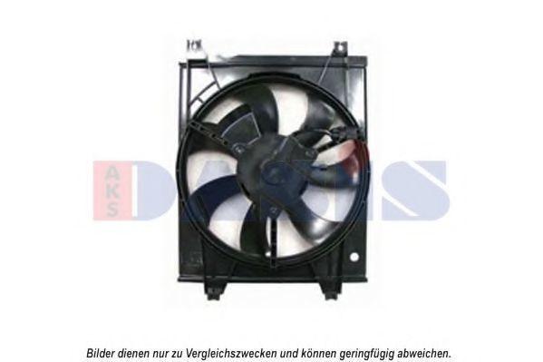 Вентилятор, охлаждение двигателя AKS DASIS 518065N