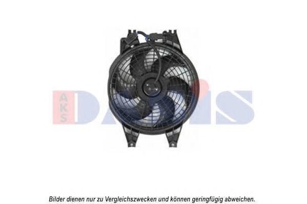 Вентилятор, охлаждение двигателя AKS DASIS 518066N