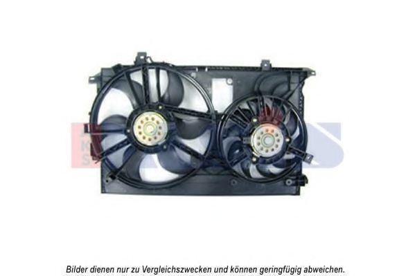 Вентилятор, охлаждение двигателя AKS DASIS 158096N