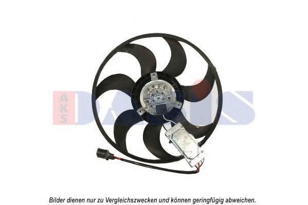 Вентилятор, охлаждение двигателя AKS DASIS 048066N