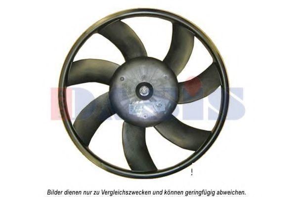 Вентилятор, охлаждение двигателя AKS DASIS 158107N