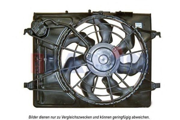 Вентилятор, охлаждение двигателя AKS DASIS 518068N