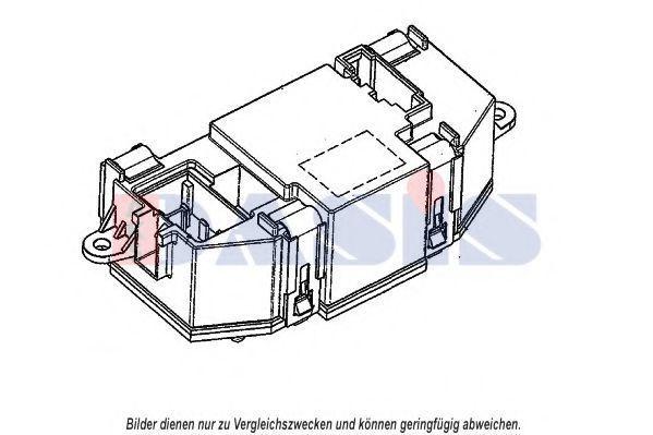 Регулятор, вентилятор салона AKS DASIS 700004N
