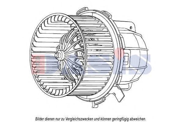 Вентилятор салона AKS DASIS 048074N