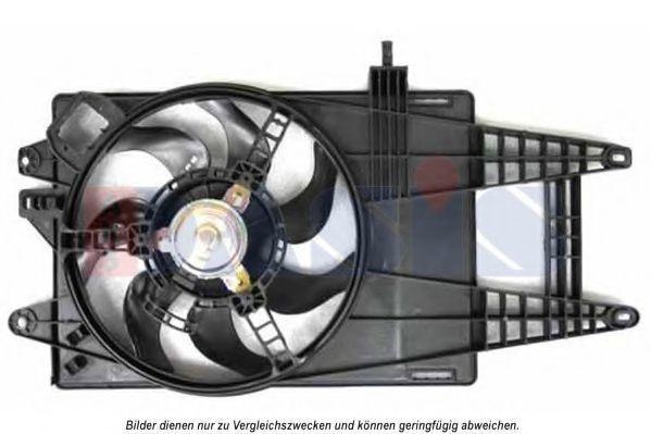 Вентилятор, охлаждение двигателя AKS DASIS 088136N