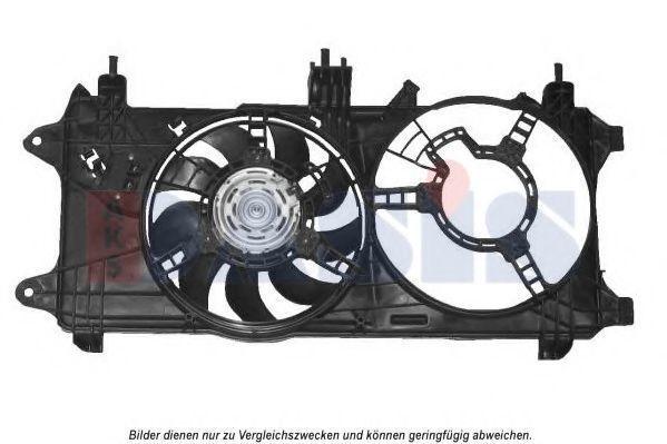 Вентилятор, охлаждение двигателя AKS DASIS 088137N