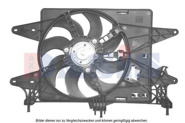Вентилятор, охлаждение двигателя AKS DASIS 088141N