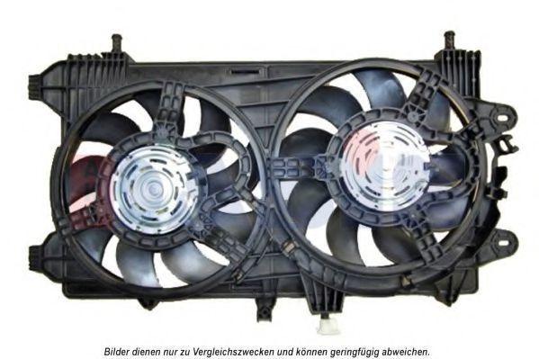 Вентилятор, охлаждение двигателя AKS DASIS 088145N