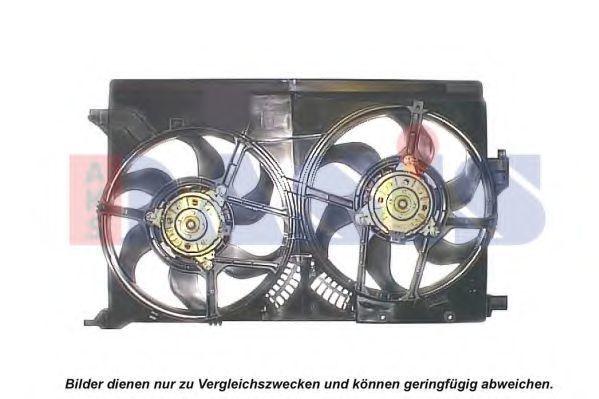 Вентилятор, охлаждение двигателя AKS DASIS 088152N