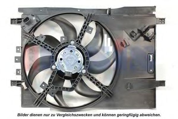 Вентилятор, охлаждение двигателя AKS DASIS 088149N
