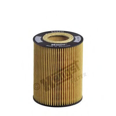 Фильтр масляный HENGST FILTER E203H D67