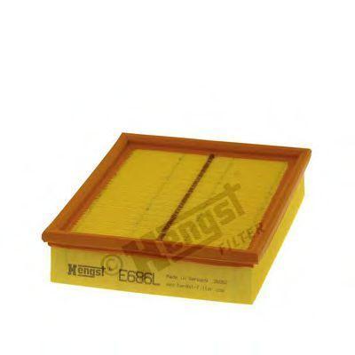 Фильтр воздушный HENGST FILTER E686L