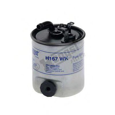 Фильтр топливный HENGST FILTER H167WK
