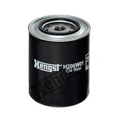 Фильтр масляный HENGST FILTER H 208 W 01